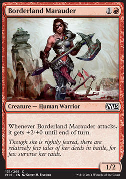 Borderland Marauder, Magic 2015