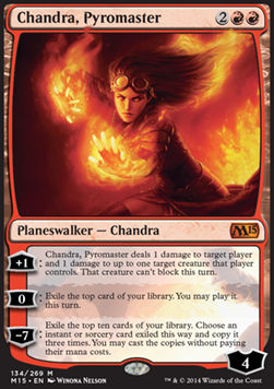 Chandra, Pyromaster, Magic 2015