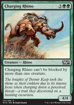 Charging Rhino, Magic 2015