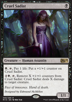 Cruel Sadist, Magic 2015
