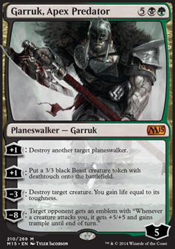 Garruk, Apex Predator, Magic 2015