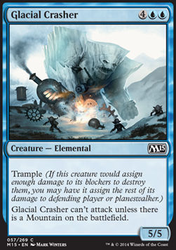 Glacial Crasher, Magic 2015