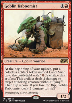 Goblin Kaboomist, Magic 2015