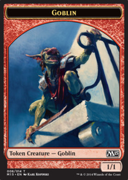 Goblin Token, Magic 2015