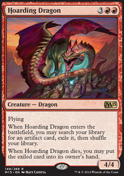 Hoarding Dragon, Magic 2015