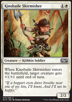 Kinsbaile Skirmisher, Magic 2015