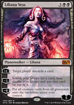 Liliana Vess, Magic 2015