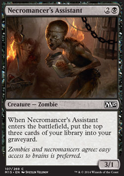 Necromancer's Assistant, Magic 2015