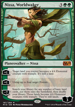Nissa, Worldwaker, Magic 2015