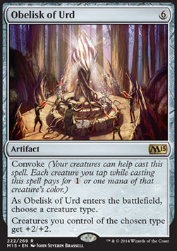 Obelisk of Urd, Magic 2015