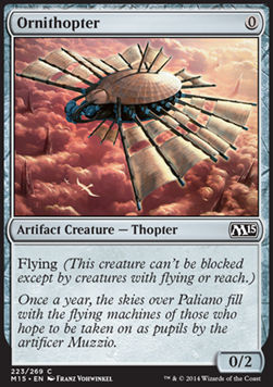 Ornithopter, Magic 2015