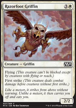 Razorfoot Griffin, Magic 2015
