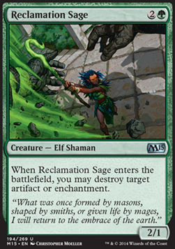 Reclamation Sage, Magic 2015