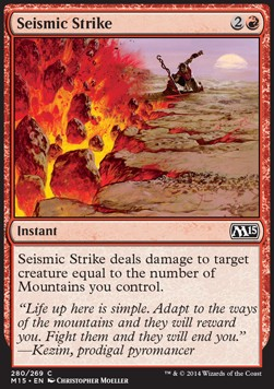 Seismic Strike, Magic 2015