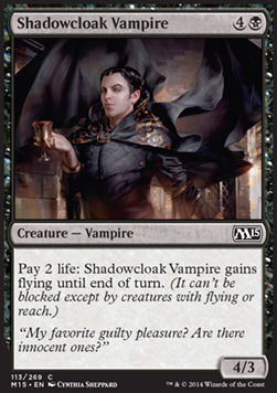 Shadowcloak Vampire, Magic 2015