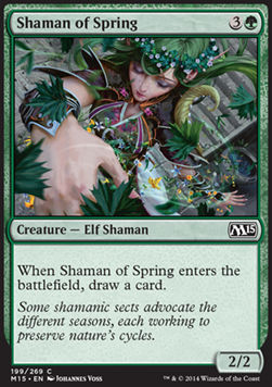 Shaman of Spring, Magic 2015