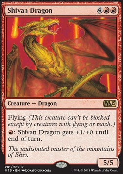 Shivan Dragon, Magic 2015