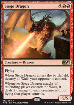Siege Dragon, Magic 2015