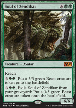 Soul of Zendikar, Magic 2015