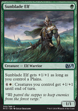 Sunblade Elf, Magic 2015