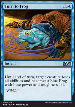 Turn to Frog, Magic 2015