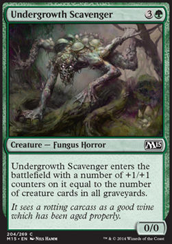 Undergrowth Scavenger, Magic 2015