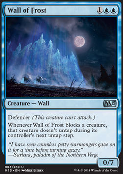 Wall of Frost, Magic 2015