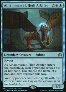 Alhammarret, High Arbiter, Magic Origins Promos