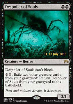 Despoiler of Souls, Magic Origins Promos