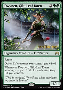 Dwynen, Gilt-Leaf Daen, Magic Origins Promos