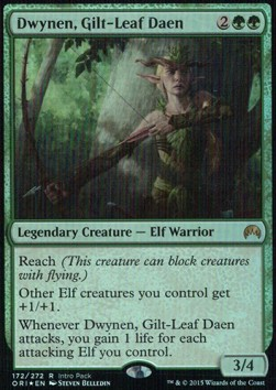 Dwynen, Gilt-Leaf Daen, Magic Origins: Promos