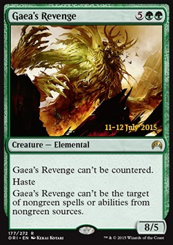 Gaea's Revenge, Magic Origins: Promos