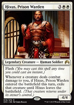 Hixus, Prison Warden, Magic Origins Promos
