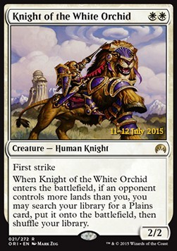 Knight of the White Orchid, Magic Origins: Promos