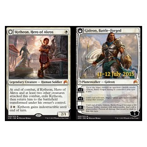 Kytheon, Hero of Akros // Gideon, Battle-Forged, Magic Origins Promos
