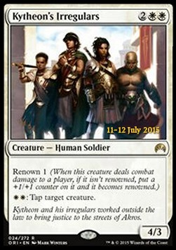 Kytheon's Irregulars, Magic Origins: Promos