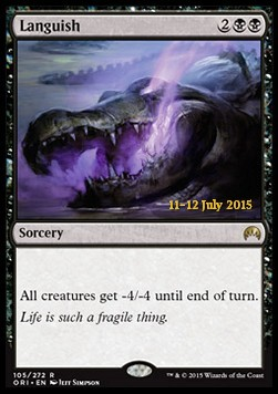 Languish, Magic Origins Promos