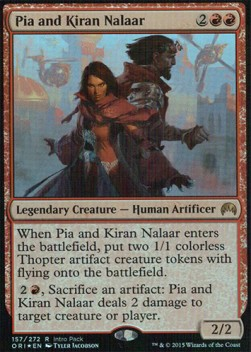 Pia and Kiran Nalaar, Magic Origins: Promos