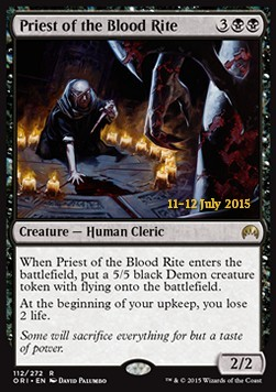 Priest of the Blood Rite, Magic Origins Promos