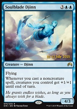 Soulblade Djinn, Magic Origins: Promos