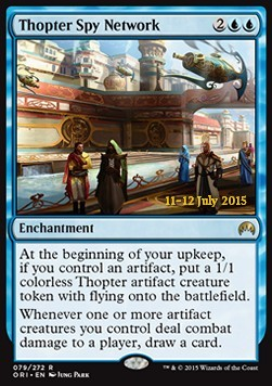 Thopter Spy Network, Magic Origins Promos