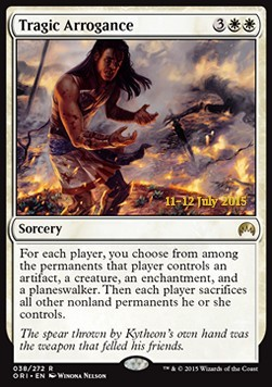 Tragic Arrogance, Magic Origins: Promos
