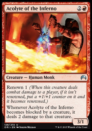 Acolyte of the Inferno, Magic Origins