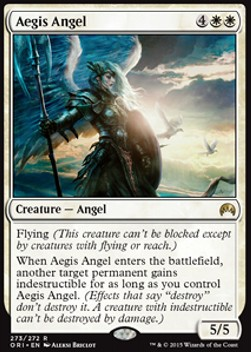 Aegis Angel, Magic Origins