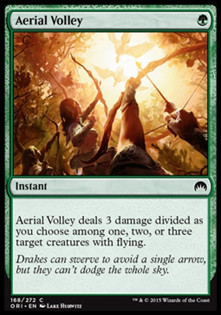 Aerial Volley, Magic Origins