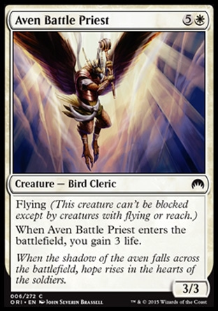 Aven Battle Priest, Magic Origins