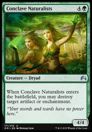 Conclave Naturalists, Magic Origins