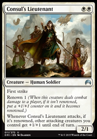 Consul's Lieutenant, Magic Origins