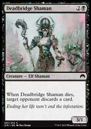 Deadbridge Shaman, Magic Origins