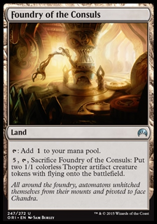Foundry of the Consuls, Magic Origins
